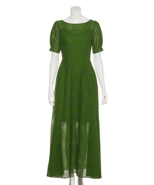 FRAY I.D(フレイ アイディー)/アイレット刺繍ドレス/FWFO192602_img02