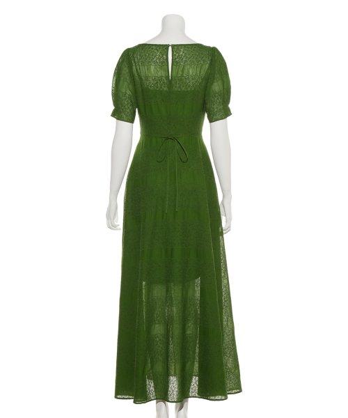FRAY I.D(フレイ アイディー)/アイレット刺繍ドレス/FWFO192602_img03