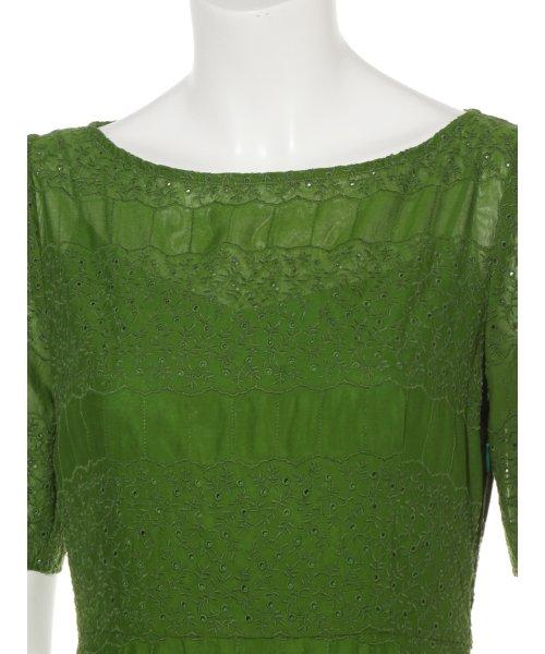 FRAY I.D(フレイ アイディー)/アイレット刺繍ドレス/FWFO192602_img05
