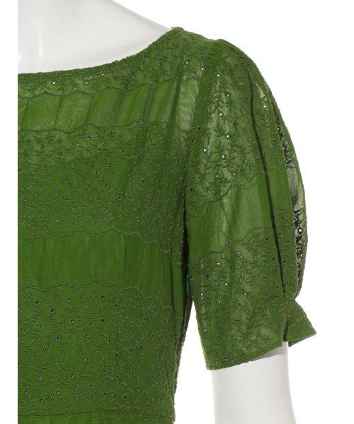 FRAY I.D(フレイ アイディー)/アイレット刺繍ドレス/FWFO192602_img06