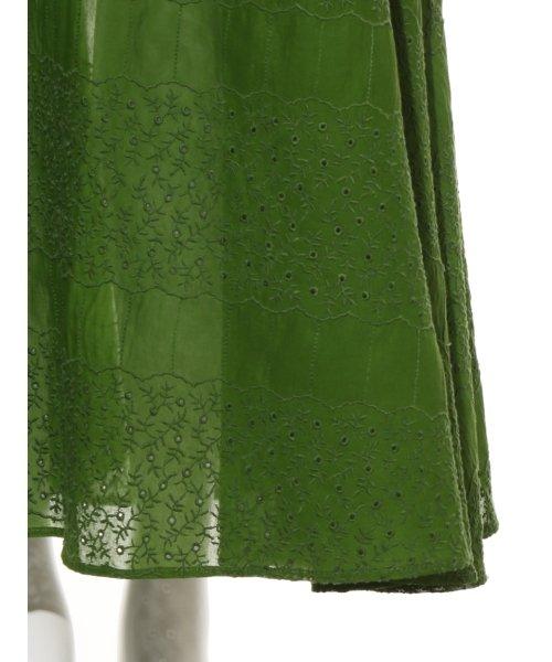 FRAY I.D(フレイ アイディー)/アイレット刺繍ドレス/FWFO192602_img07