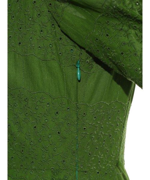 FRAY I.D(フレイ アイディー)/アイレット刺繍ドレス/FWFO192602_img10