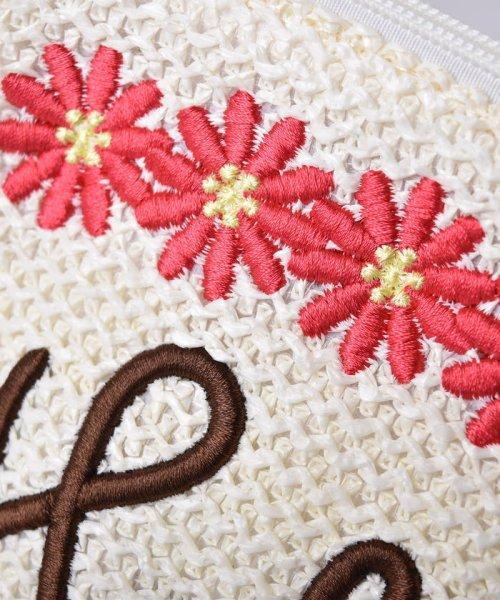 B de R(ビーデアール)/【カタログ掲載】花刺繍ポシェット/197413005_img02