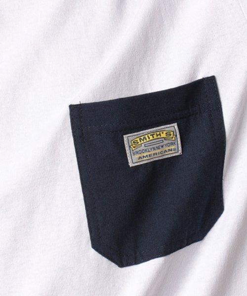 MARUKAWA(マルカワ)/【SMITH'S AMERICAN】スミスアメリカン ポケット 半袖Tシャツ/0112280950_img05
