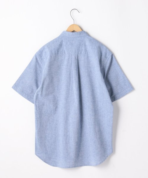 coen(コーエン)/フロント切替綿麻ボタンダウンシャツ/75156039009_img01