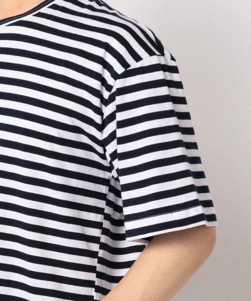 GLOSTER(GLOSTER)/【RUSSIAN NAVY/ロシアンネイビー】 半袖Tシャツ/9-0666-2-53-002_img05