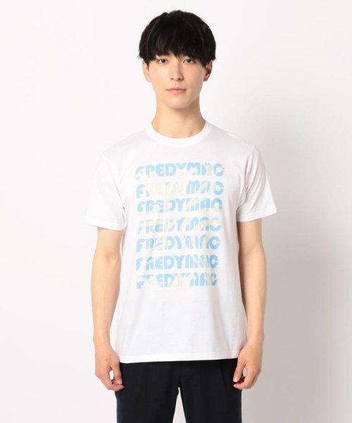 FREDYMAC(フレディマック)/スイレンマーブルインクジェットTシャツ/9-0678-2-50-024_img01
