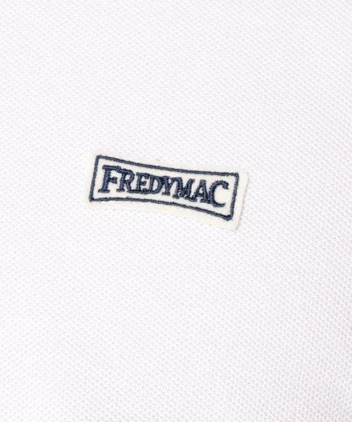 FREDYMAC(フレディマック)/メガチャリ+ワッペンラインポロシャツ/9-0678-2-50-040_img09