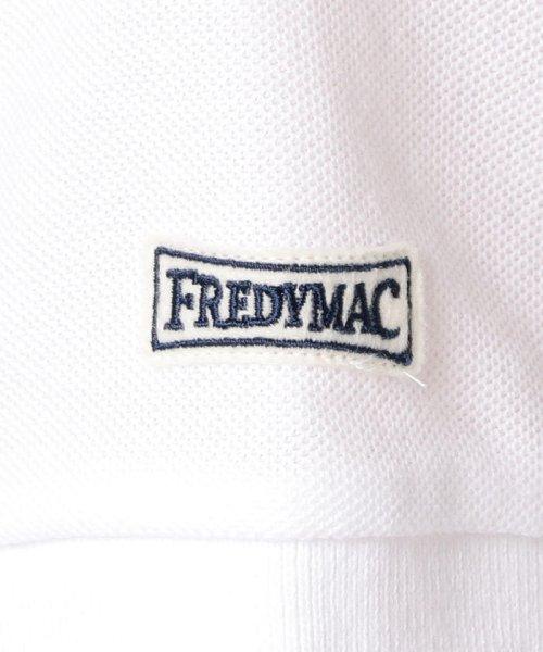 FREDYMAC(フレディマック)/メガF+袖ワッペンポロシャツ/9-0678-2-50-041_img09