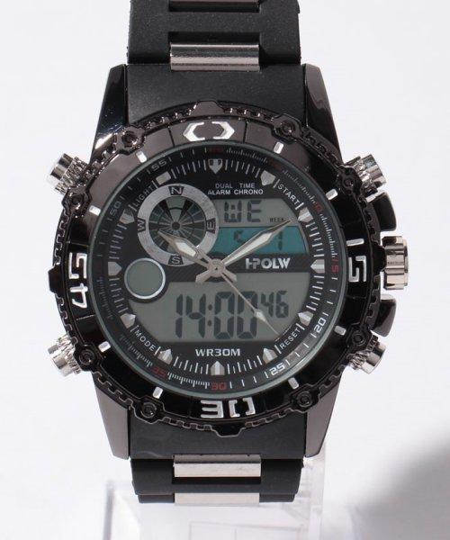 SP(エスピー)/【HPFS】アナデジ アナログ&デジタル腕時計 HPFS622 メンズ腕時計 デジアナ/WTHPFS622_img01