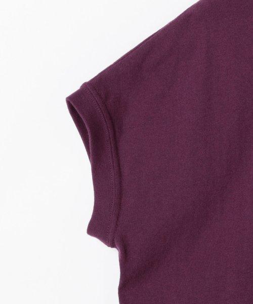 coen(コーエン)/【WEB限定カラーに新色ブラウン登場】USAコットンハイネックTシャツ/76256009019_img26