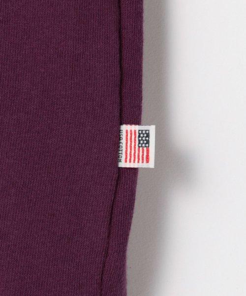 coen(コーエン)/【WEB限定カラーに新色ブラウン登場】USAコットンハイネックTシャツ/76256009019_img27