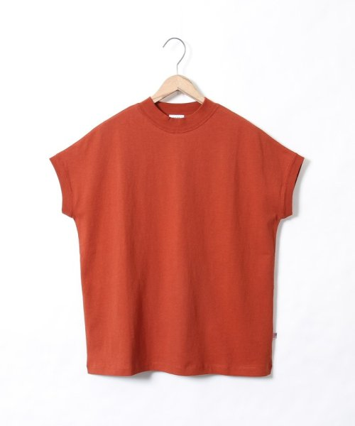 coen(コーエン)/【WEB限定カラーに新色ブラウン登場】USAコットンハイネックTシャツ/76256009019_img29