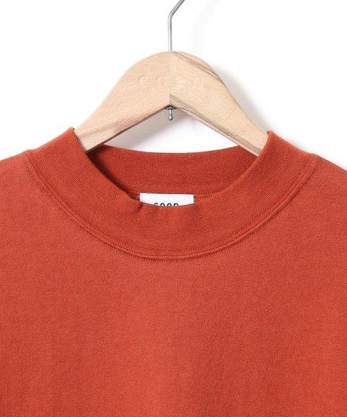 coen(コーエン)/【WEB限定カラーに新色ブラウン登場】USAコットンハイネックTシャツ/76256009019_img30