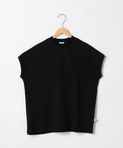 coen(コーエン)/【WEB限定カラーに新色ブラウン登場】USAコットンハイネックTシャツ/76256009019_img32
