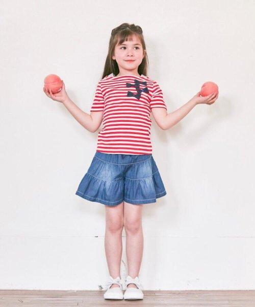 HusHush(Kids)(ハッシュアッシュ(キッズ))/【90-150cm】立体リボンフェイクレイヤードTシャツ/20190151216036_img11