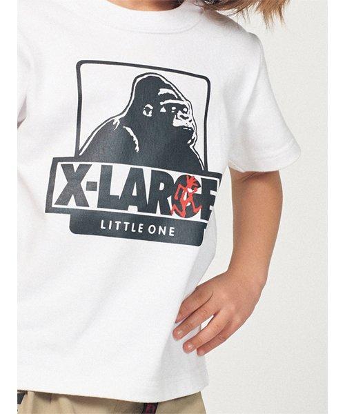 XLARGE KIDS(エクストララージ キッズ)/グラミチコラボ OGゴリラTシャツ/9492227_img01