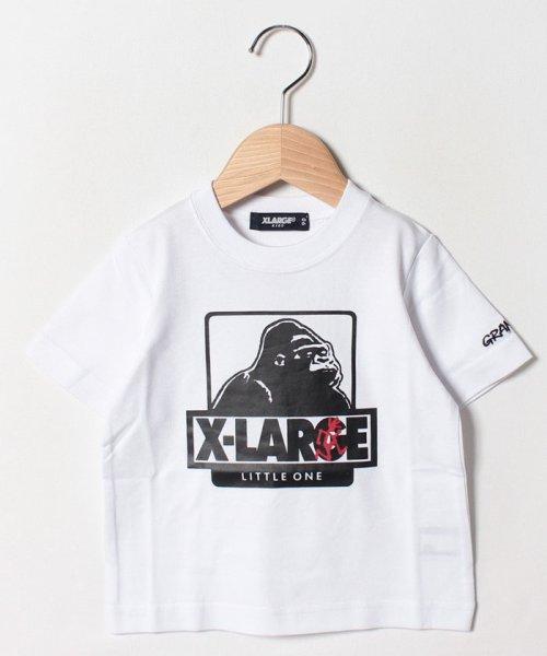 XLARGE KIDS(エクストララージ キッズ)/グラミチコラボ OGゴリラTシャツ/9492227_img06