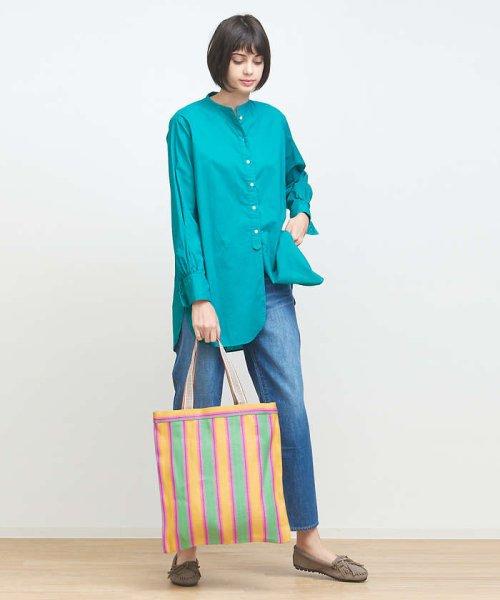 collex(collex)/製品染めチュニックシャツ/60380605011_img01