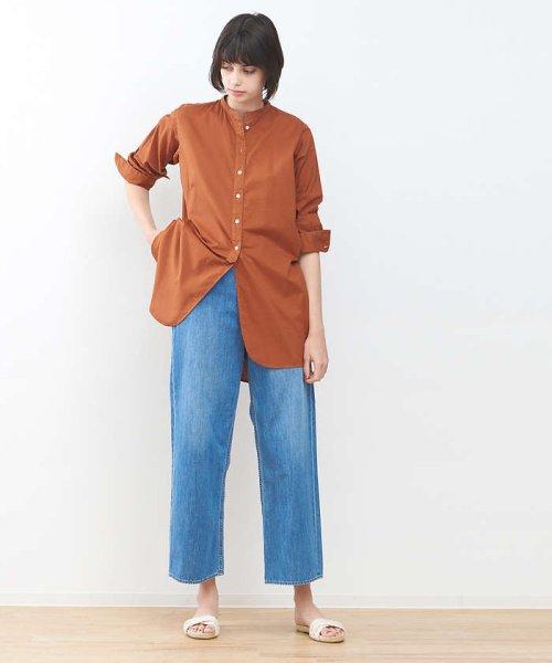 collex(collex)/製品染めチュニックシャツ/60380605011_img02