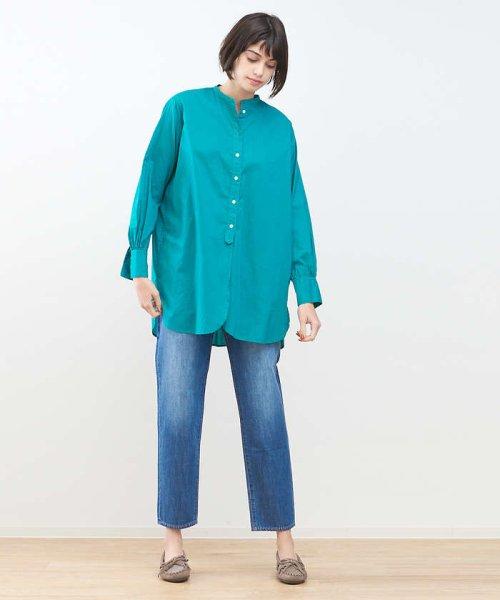 collex(collex)/製品染めチュニックシャツ/60380605011_img03