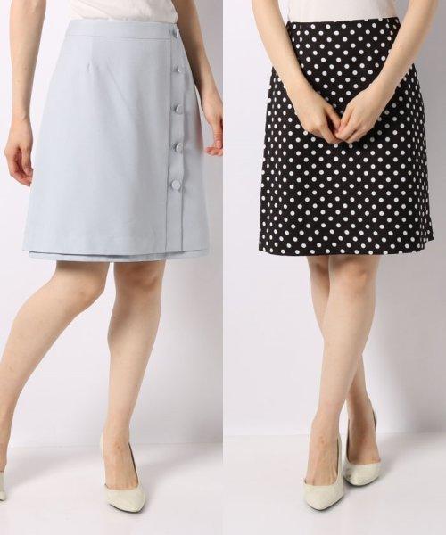 Noela(ノエラ)/【Ray6月号掲載】リバーシブル台形スカート/5932011_img12