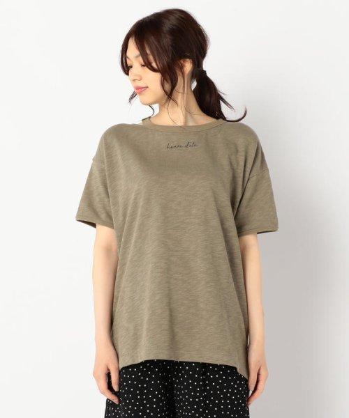 FREDY REPIT(フレディレピ)/[新色追加]ヴィンテージスラブ裏毛 衿デザインTシャツ/9-0012-2-23-010_img02