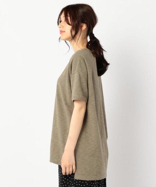 FREDY REPIT(フレディレピ)/[新色追加]ヴィンテージスラブ裏毛 衿デザインTシャツ/9-0012-2-23-010_img03
