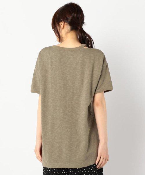 FREDY REPIT(フレディレピ)/[新色追加]ヴィンテージスラブ裏毛 衿デザインTシャツ/9-0012-2-23-010_img04