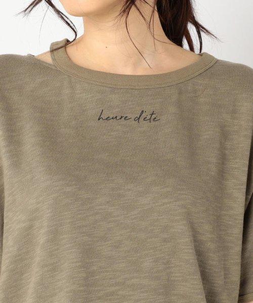 FREDY REPIT(フレディレピ)/[新色追加]ヴィンテージスラブ裏毛 衿デザインTシャツ/9-0012-2-23-010_img05