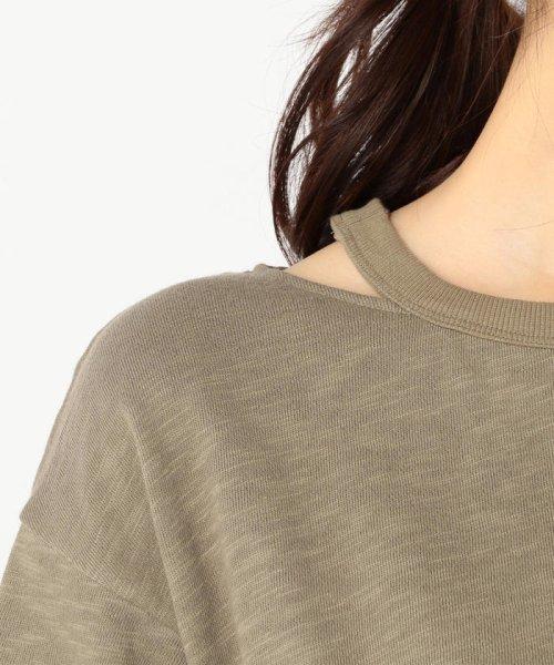 FREDY REPIT(フレディレピ)/[新色追加]ヴィンテージスラブ裏毛 衿デザインTシャツ/9-0012-2-23-010_img06