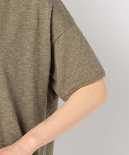 FREDY REPIT(フレディレピ)/[新色追加]ヴィンテージスラブ裏毛 衿デザインTシャツ/9-0012-2-23-010_img07