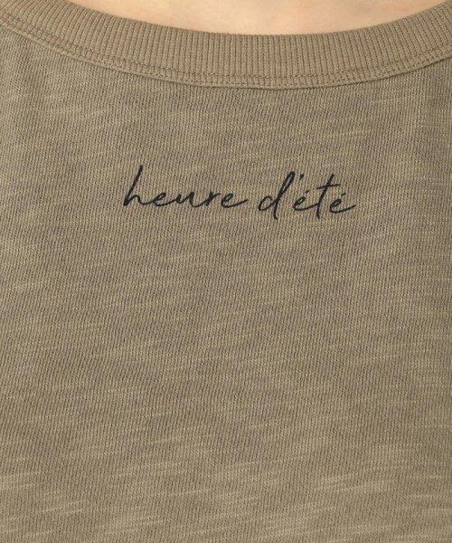 FREDY REPIT(フレディレピ)/[新色追加]ヴィンテージスラブ裏毛 衿デザインTシャツ/9-0012-2-23-010_img09