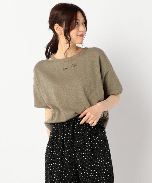 FREDY REPIT(フレディレピ)/[新色追加]ヴィンテージスラブ裏毛 衿デザインTシャツ/9-0012-2-23-010_img11