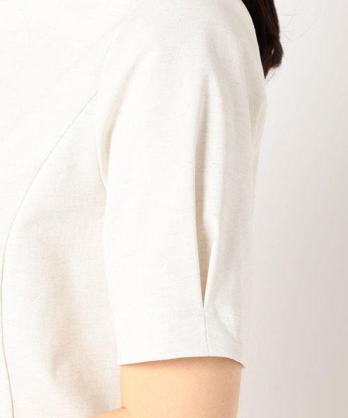 fredy emue(フレディエミュ)/カールマイヤーリネン混5分袖プルオーバーカットソー/9-0021-2-23-014_img06