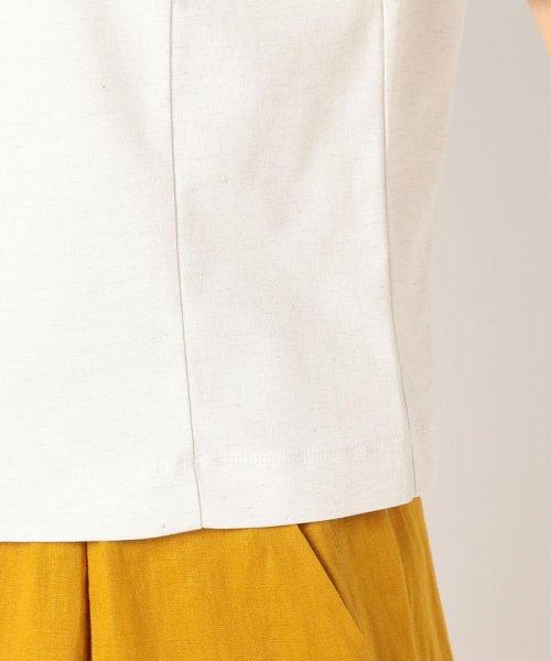 fredy emue(フレディエミュ)/カールマイヤーリネン混5分袖プルオーバーカットソー/9-0021-2-23-014_img07