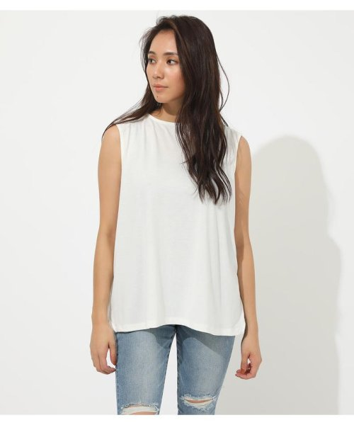 AZUL by moussy(アズールバイマウジー)/ICE CLEAN BACK TUCK TANK/250CSH80-347D_img03