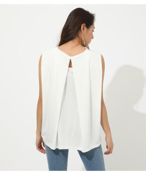 AZUL by moussy(アズールバイマウジー)/ICE CLEAN BACK TUCK TANK/250CSH80-347D_img05