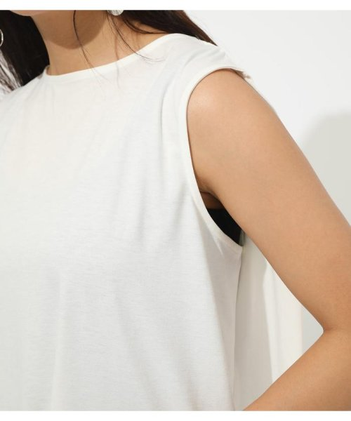 AZUL by moussy(アズールバイマウジー)/ICE CLEAN BACK TUCK TANK/250CSH80-347D_img07