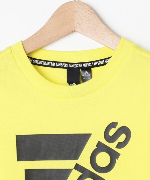 HusHush(Kids)(ハッシュアッシュ(キッズ))/【110-160cm】adidas ラバーロゴTシャツ(一部店舗・WEB限定)/99990951211011_img03