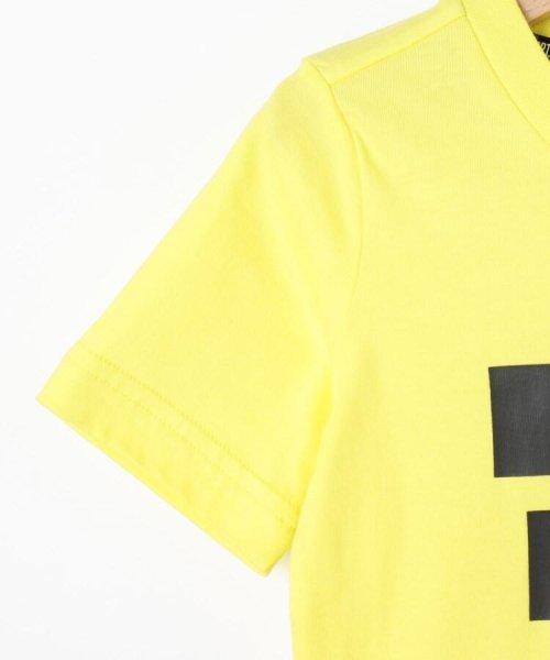 HusHush(Kids)(ハッシュアッシュ(キッズ))/【110-160cm】adidas ラバーロゴTシャツ(一部店舗・WEB限定)/99990951211011_img04