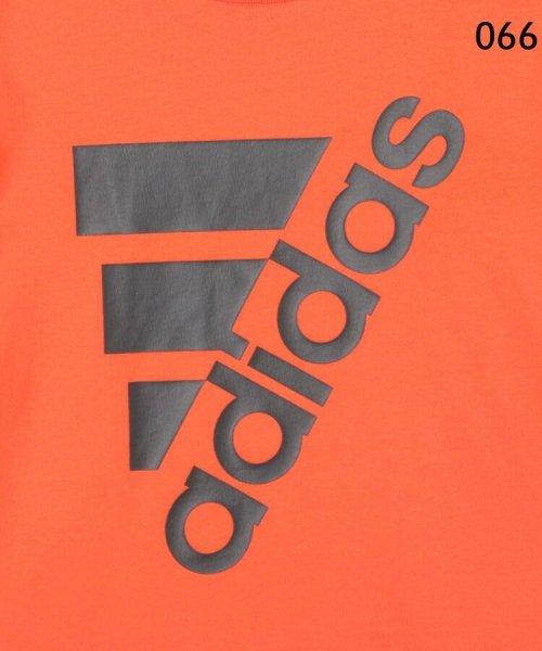 HusHush(Kids)(ハッシュアッシュ(キッズ))/【110-160cm】adidas ラバーロゴTシャツ(一部店舗・WEB限定)/99990951211011_img08