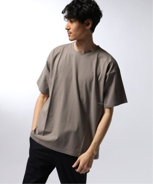 EDIFICE(エディフィス)/ATON / エイトン OVERSIZED T-SHIRT NUBACK COTTON/19071310007510_img02