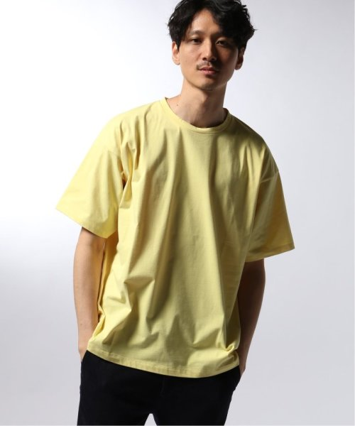 EDIFICE(エディフィス)/ATON / エイトン OVERSIZED T-SHIRT NUBACK COTTON/19071310007510_img04