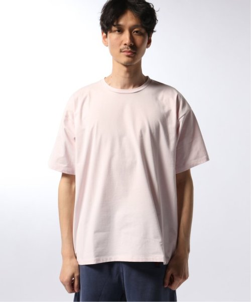 EDIFICE(エディフィス)/ATON / エイトン OVERSIZED T-SHIRT NUBACK COTTON/19071310007510_img05