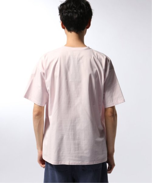 EDIFICE(エディフィス)/ATON / エイトン OVERSIZED T-SHIRT NUBACK COTTON/19071310007510_img07