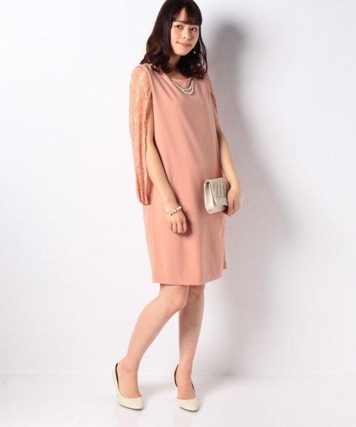 Eimy Peral(エイミーパール(ドレス))/肩かけ風レースドレス/4747_img14