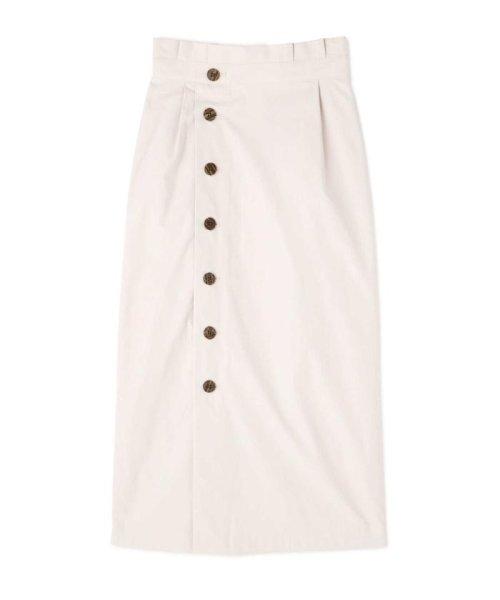 PROPORTION BODY DRESSING(プロポーション ボディドレッシング)/《EDIT COLOGNE》フロントボタンロングタイトスカート/1219127502_img01