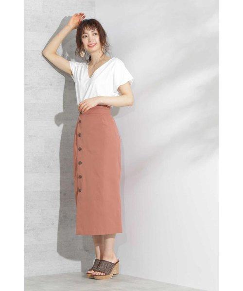 PROPORTION BODY DRESSING(プロポーション ボディドレッシング)/《EDIT COLOGNE》フロントボタンロングタイトスカート/1219127502_img06