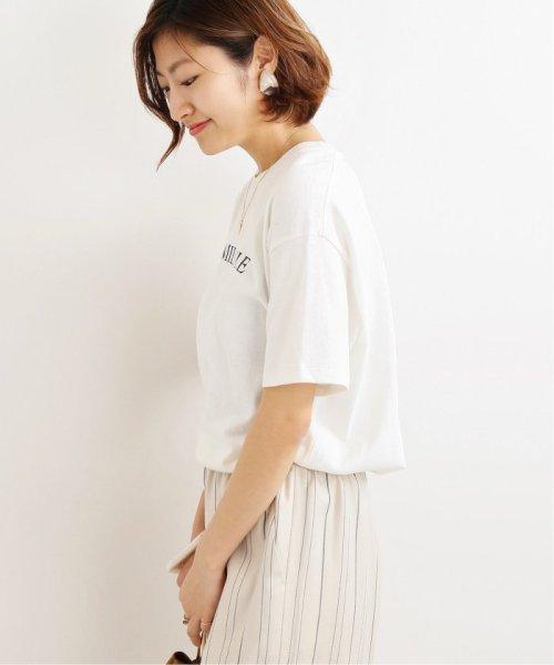 IENA(イエナ)/《追加2》ロゴプリントTシャツ◆/19070900010210_img37